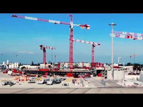 Aéroports de Lyon :  40 mois de travaux en 2min50