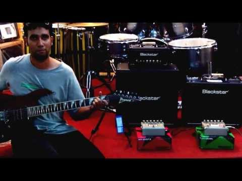 Blackstar Distortion with Daniel Miranda of DM Customs.