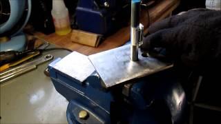 Simple Jig for bending metal flat stock