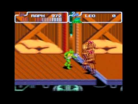 Teenage Mutant Ninja Turtles IV: Turtles in Time - SNES - Speed Run - HARD - NO CHEATS - NO DEATHS