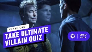 The Flash Cast Take the Ultimate Villain Quiz - Comic Con 2019