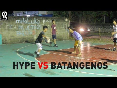 HYPE STREETBALL VS BATANGENOS