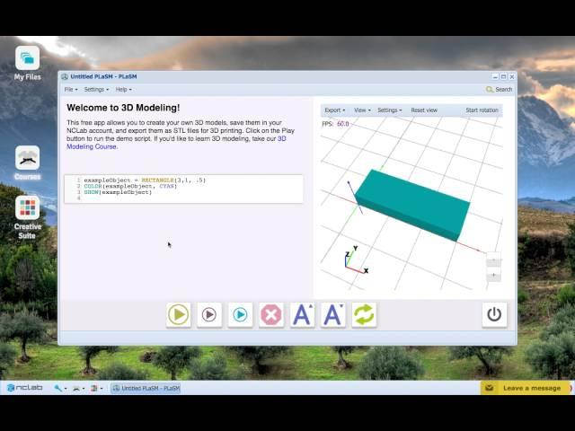 NCLab 3D Modeling: The Versatile BOX Command