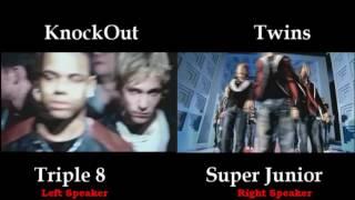 Video Super Junior Twins vs Triple 8 Knock-Out! download MP3, 3GP, MP4, WEBM, AVI, FLV Agustus 2018