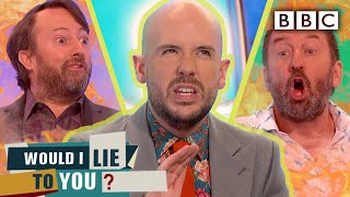 What Tom Allen's secret laptop photos reveal... | Would I Lie To You - BBC