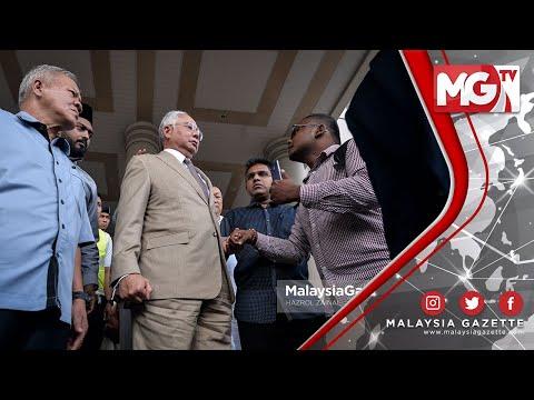 TERKINI : POLIS KENA MARAH! Najib Pertahan Seorang Pelajar Law Kena Tarik Bila Tanya Soalan