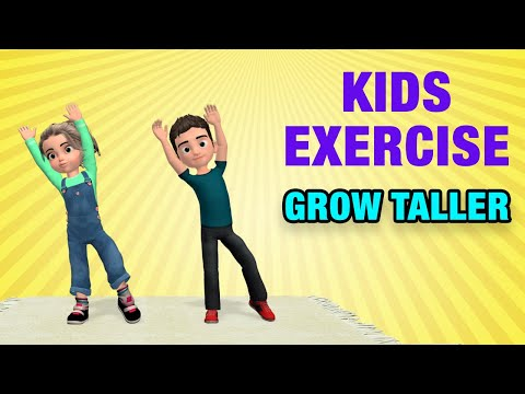 Kids Exercises To Grow Taller: Home Activities