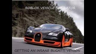 ROBLOX VEHICLE SIMULATOR #1 MY NEW BUGATTI + HOT PURSUIT