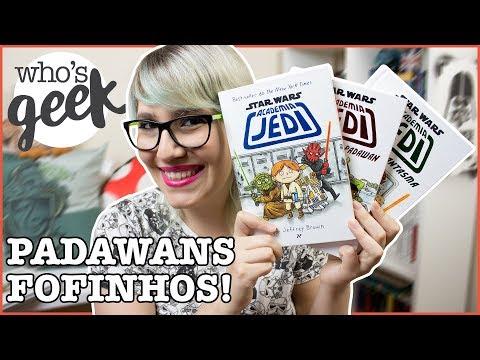 STAR WARS: ACADEMIA JEDI de Jeffrey Brown + SORTEIO | Who's Geek