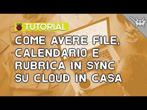 Come configurare CalDAV, CardDAV e WebDAV sul Raspberry Pi 3 ⊷ #gon_Tutorial