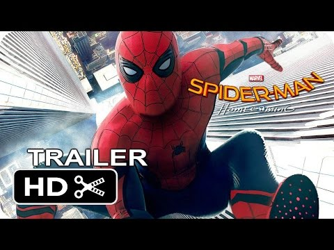 Spider Man Homecoming Official Trailer  1      - Tom Holland Movie Poster