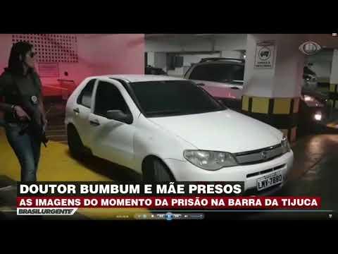 Vídeo mostra prisão do 'Doutor Bumbum' no RJ