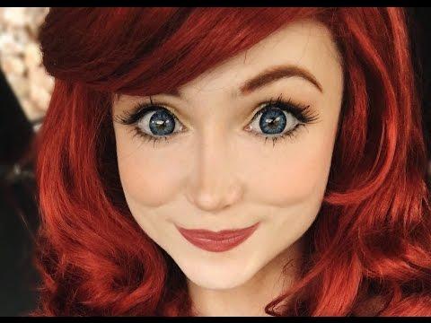 Ariel from The Little Mermaid Makeup Tutorial | Costume Makeup