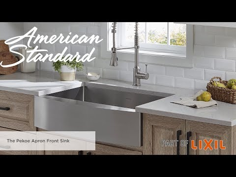 The Pekoe Apron Front Kitchen Sink From American Standard