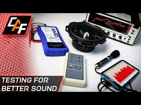 BETTER SOUND through testing - Installing Car Audio - Polarity, Distortion, Signal Response