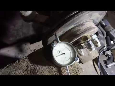 видео: биение руля при торможении
