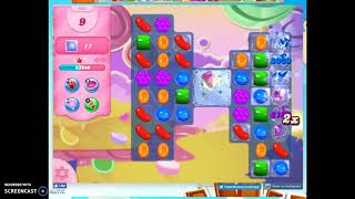 Candy Crush Level 954 Audio Talkthrough, 1 Star 0 Boosters