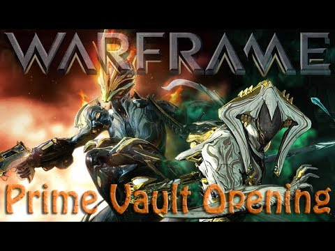 Warframe - Prime Vault Opening 6th Febuary