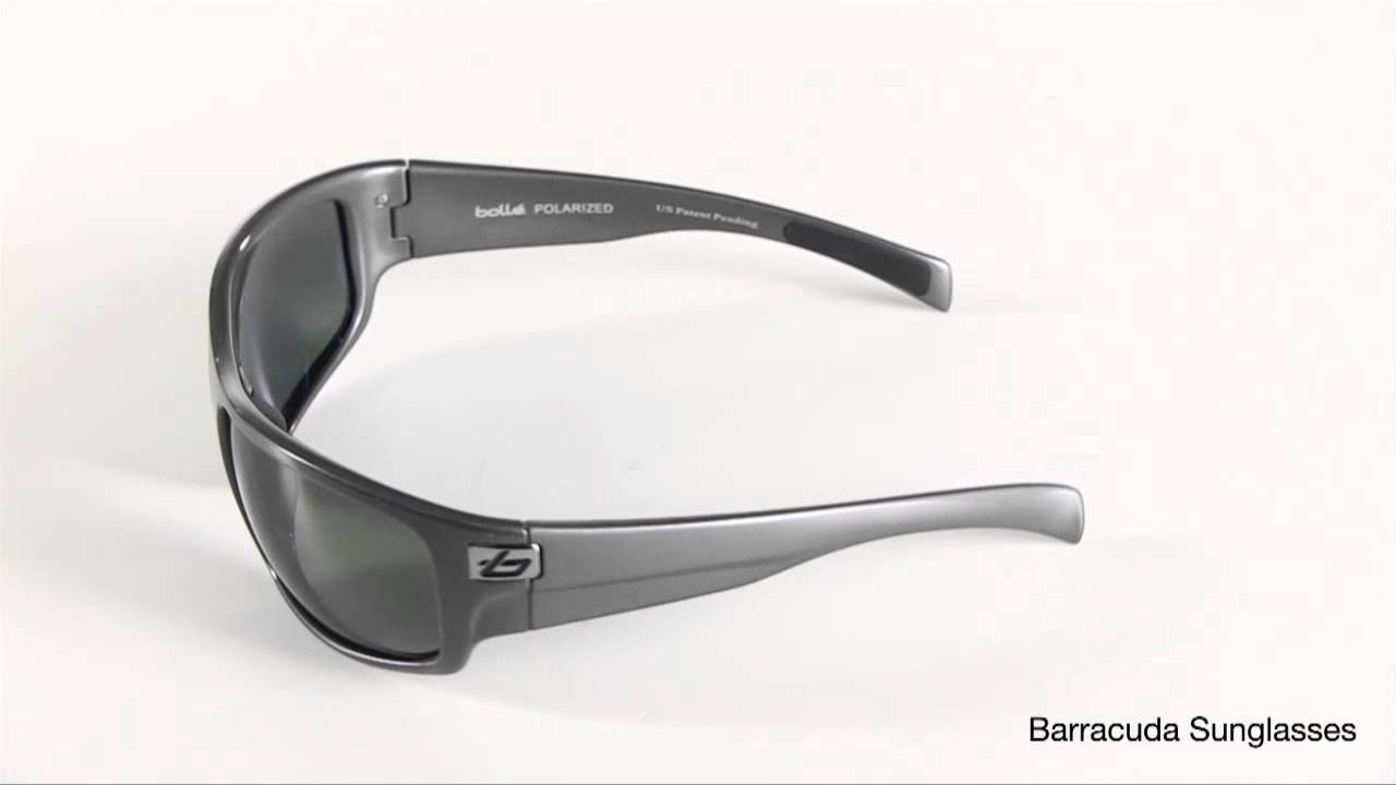 bolle polarized sunglasses auxn  Bolle Barracuda Sunglasses