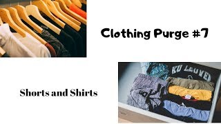 Clothing Purge Challenge Part 7 | Clothing declutter