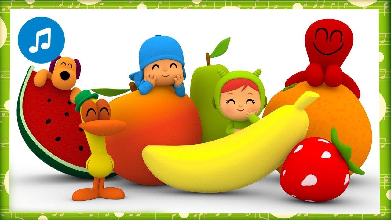 🥬🥕🎶 CANCIONES INFANTILES de POCOYÓ - Canción de los vegetales | Caricaturas y dibujos animados