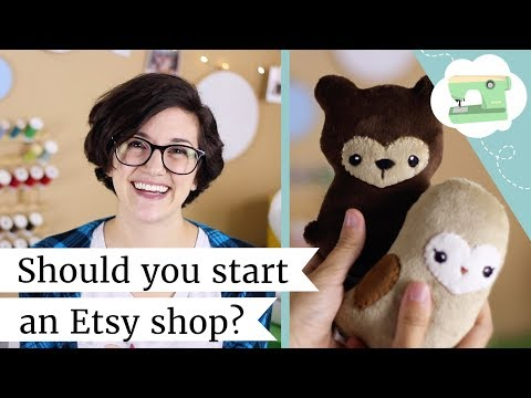 Should you start an Etsy shop? Selling, Shipping, and Pricing Handmade | @laurenfairwx