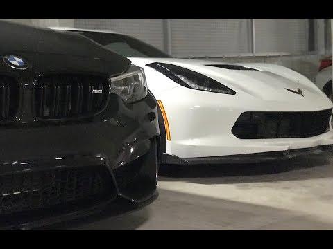 2019 BMW M3 vs 2019 Corvette Z06