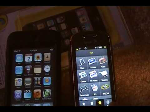 Ipod Touch vs Samsung Instinct s30  SPEED TESTS