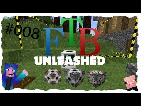 FTB Unleashed | Projekt mit Niklas | Energy Bridge | #008