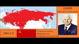 The Soviet Union every year