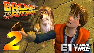 Back to the Future: The Game - Part 2 [Episode 1: It's About Time] – PS4 Walkthrough Gameplay