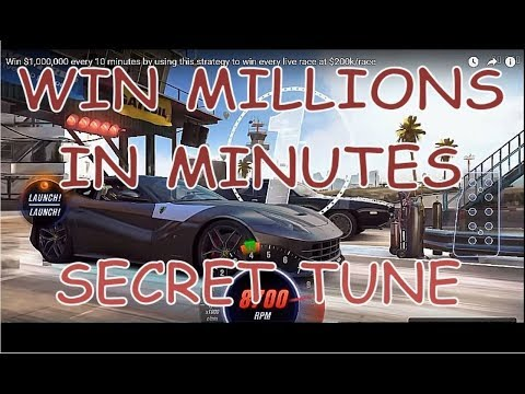 Win $1,000,000 in 10 minutes by using this strategy- no CHEAT or GLITCH -Win every live race @ $200K