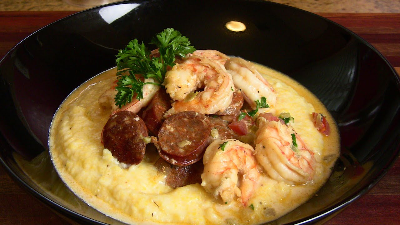 Holiday Series: #1 Shrimp & Andouille Sausage w/ Grits for ...