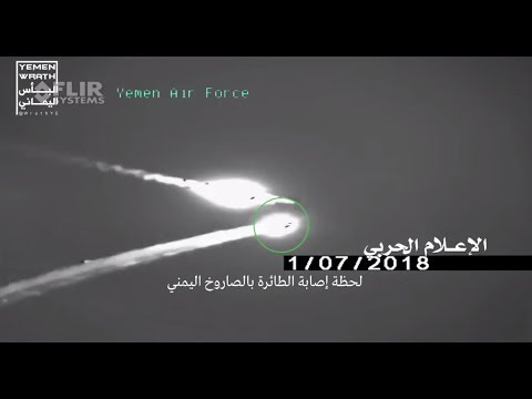 Hiting Saudi F15 Fighter Jet over Yemen capital Sana'a