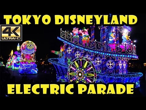 [4K] Tokyo Disneyland Electric Parade Dreamlights - Full Parade