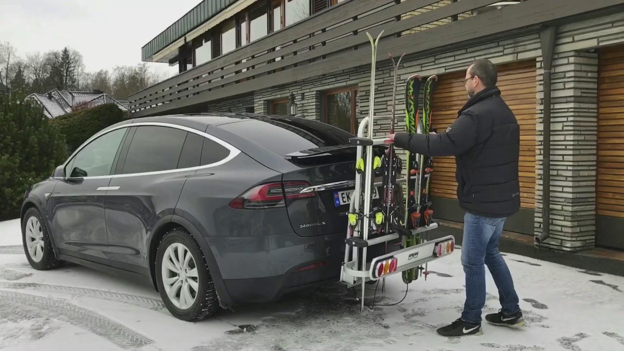 Skistativ P 229 Tesla Model X Youtube