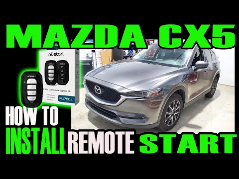MAZDA CX5 — HOW TO INSTALL REMOTE START DC3 PLUS MA3 T-HARNESS