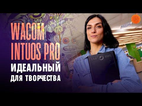 Wacom Intuos Pro: графический планшет профессионального уровня