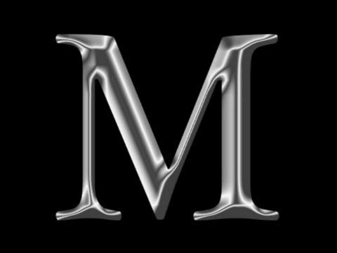 Photoshop CS6 Tutorial - Metal Chrome Text