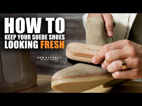 How To Clean Suede Shoes with Parker Yorker Smith