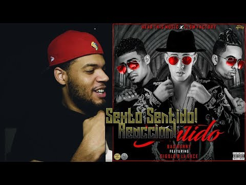 Bad Bunny x Gigolo & La Exce - Sexto Sentido (Video Oficial) reaccion