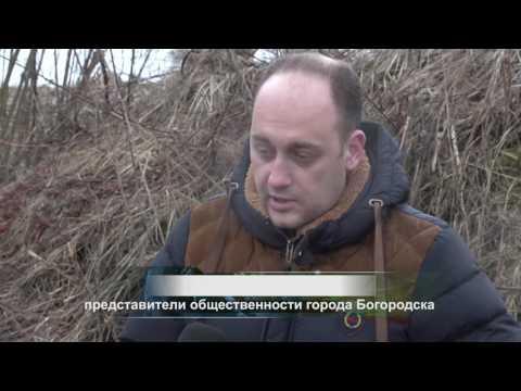 река Рязанка город Богородск Нижегородская область