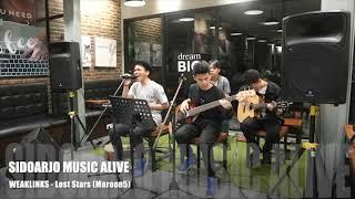 Weaklinks - Lost stars ( Maroon 5) Live acoustic Sidoarjo Music Alive #2