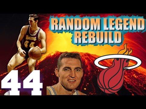 NBA 2K16 MY GM - Random Legend Rebuild - MIAMI HEATS NEW SUPERSTAR!