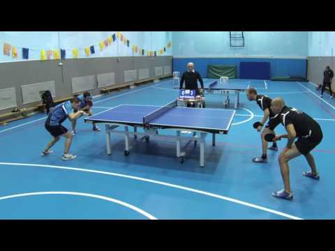Table Tennis Doubles game - Herzliya VS Shoham