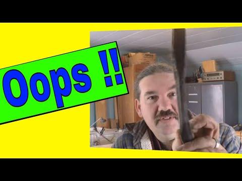 Straightening Bent Metal: oops!!!