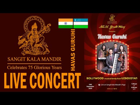 LIVE CONCERT - HAVAS guruhi on the facebook page - \