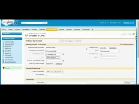 Salesforce en Español | Demo Prospectos & Oportunidades
