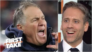 The Patriots keep cheating and keep getting caught, it's absurd! - Max Kellerman | First Take