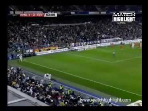 Real Madrid vs. Sevilla (3-2) All Goals & Highlights 06/03/10